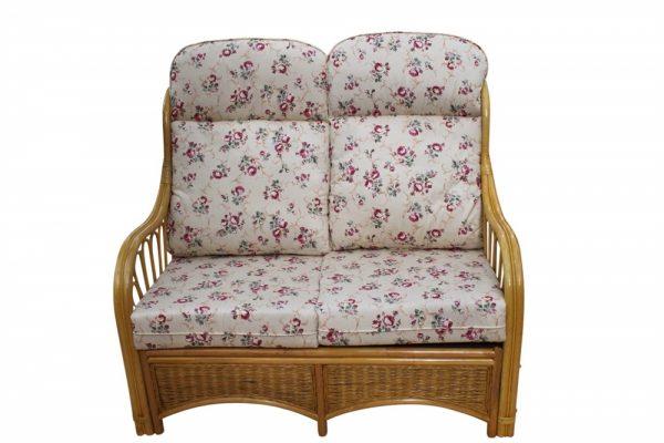 Sorrento Cane Furniture -2 Seater Sofa - Rose