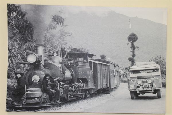 Series 1 Land Rover & Train in Nepal - Circa 1955