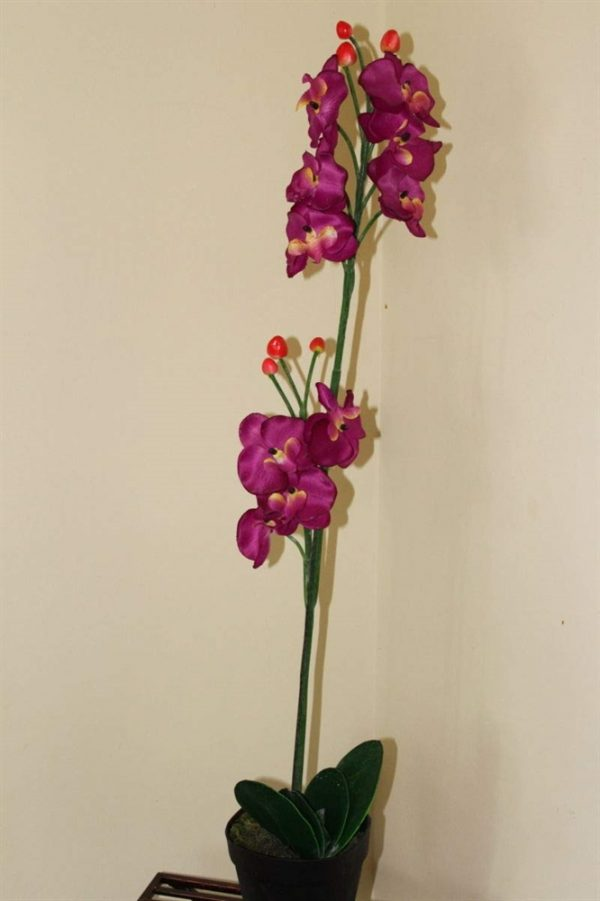 1M Tall Artificial Orchid Plant