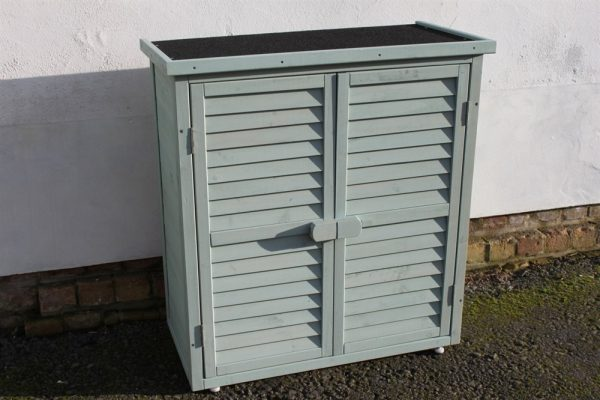 Wooden Tool Shed Blue/Green-WS95-SageGreen