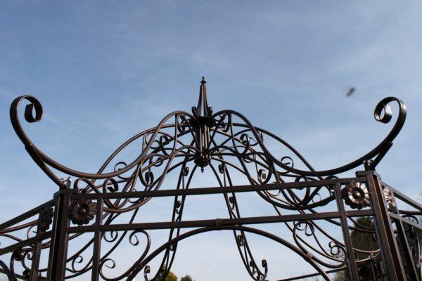 Versailles Metal Garden Gazebo in Antique Bronze