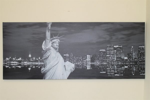 Large Statue of Liberty Canvas Print