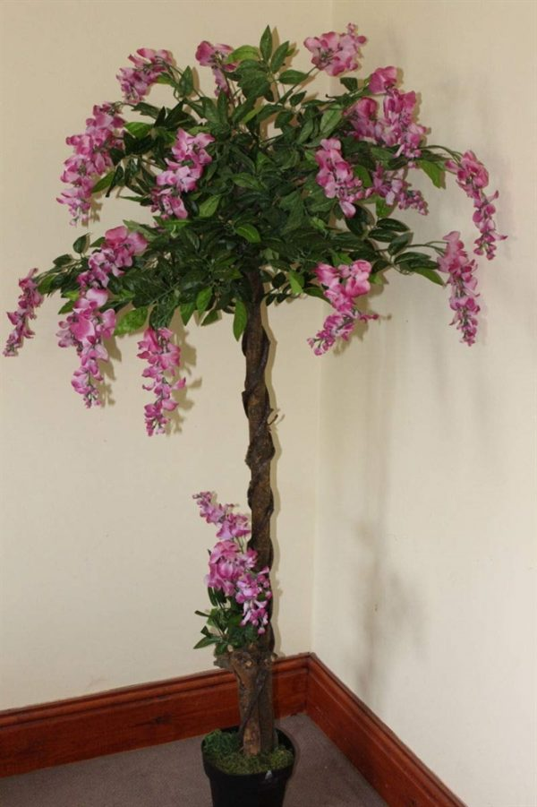 1.6M Tall Artificial Wisteria Plant