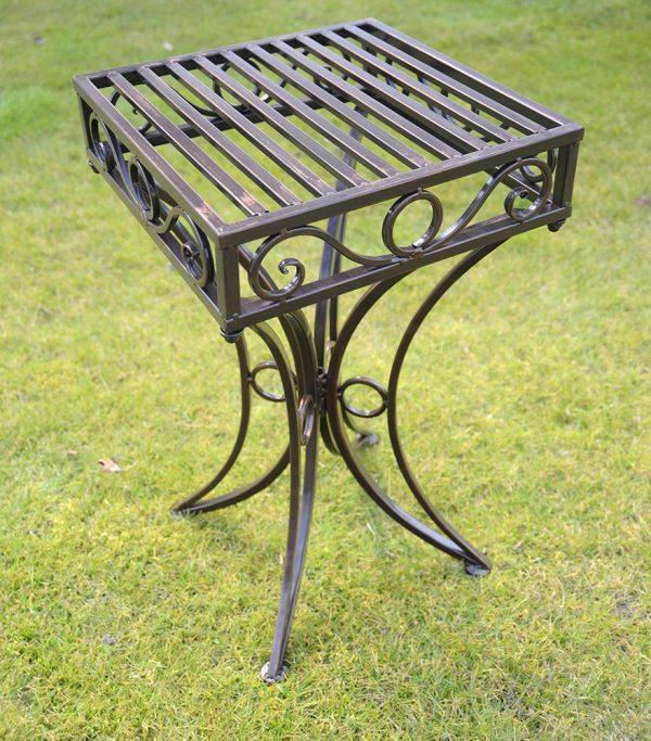 Versailles Metal Garden table Antique Bronze Finish