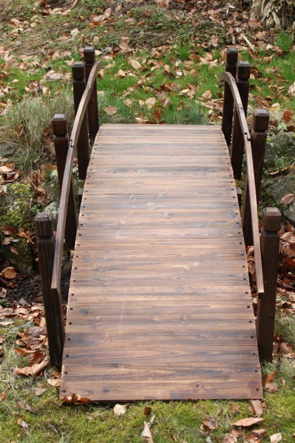 Wooden Garden Bridge 2M Wide