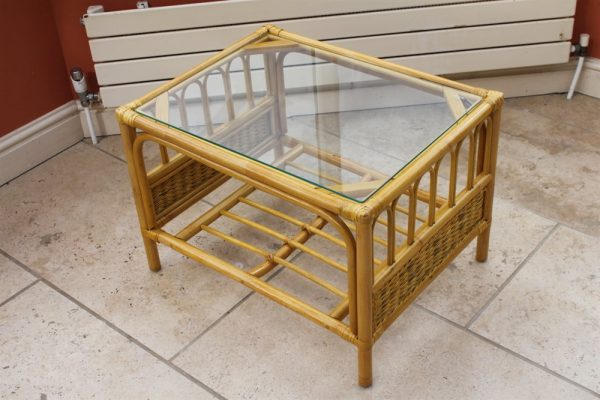 Sorrento Cane Furniture -2 Seater Sofa - Cream