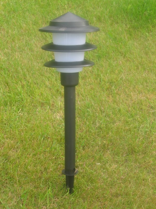 Set of 10 Garden Pagoda Lights With Transformer