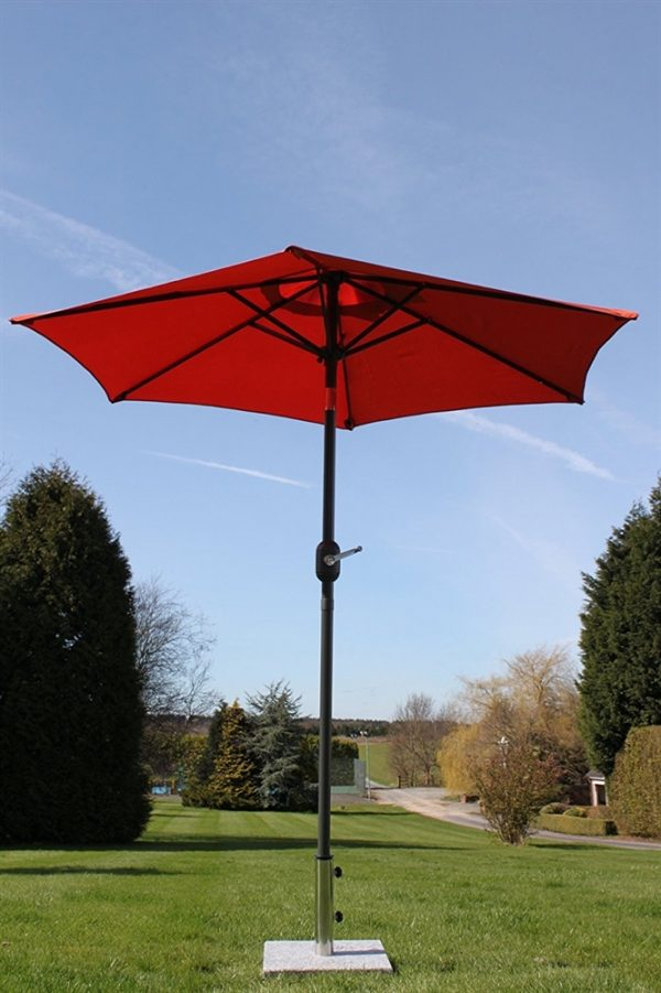 2.1M Wide Parasol Tilt and Crank-Terracotta