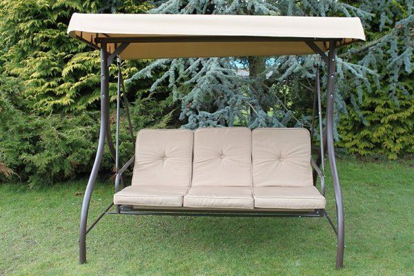 Heavy Duty Garden 3 Seater Swing Seat-ZRSW014