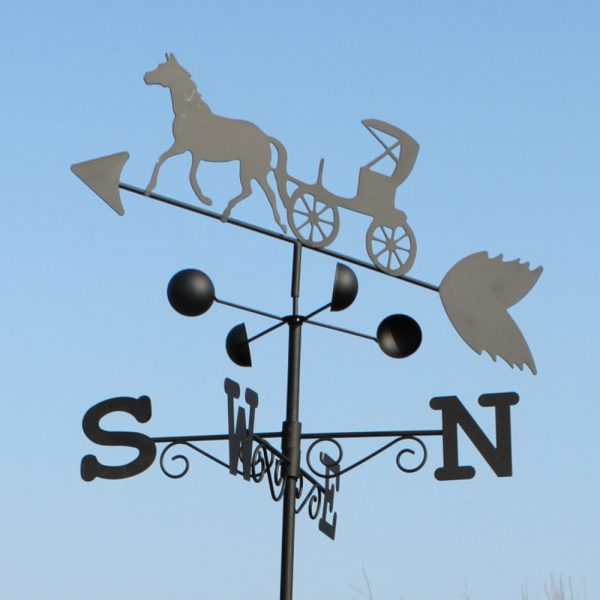 Horse and Cart Weathervane