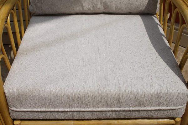 Sorrento Cane Furniture -Single Chair - Cream