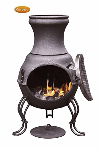Gardeco Billie Steel Garden Chimenea