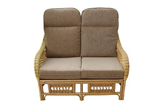 Enjoyable Portofino Cane Furniture 2 Seater Sofa Coffee Cjindustries Chair Design For Home Cjindustriesco